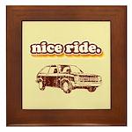 Nice Ride Framed Tile