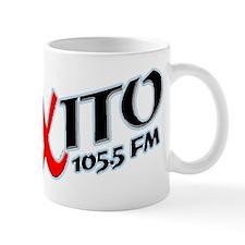 Radio Exito Logo Angled (Blac Mug