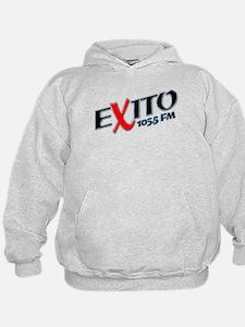 Radio Exito Logo Angled (Blac Hoodie