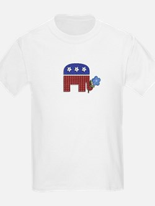 Patchwork Elephant 1 T-Shirt