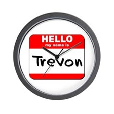 Hello my name is Trevon Wall Clock