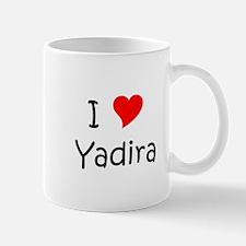 Cute Heart yadira Mug