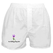Ass-Kicking Girly-Girl Boxer Shorts