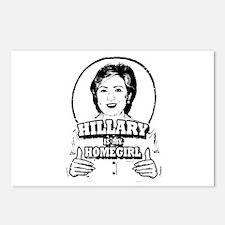 Hillary Clinton is my homegirl ~  Postcards (Packa