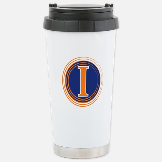 Fighting Illini Stainless Steel Travel Mug