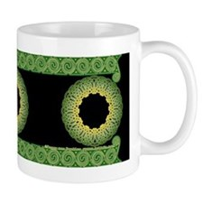 Green Irish Knot with Border #2 Knot Mug