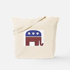 Patchwork Elephant 1 Tote Bag