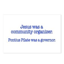 Jesus was a community organiz Postcards (Package o