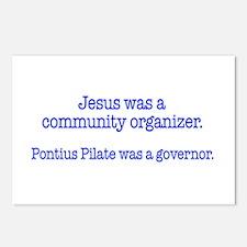 Jesus was a community organiz Postcards (Package o