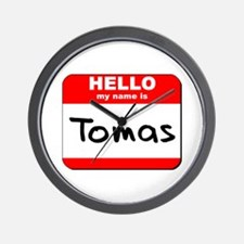 Hello my name is Tomas Wall Clock