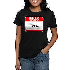 Hello my name is Tom Tee