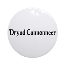 Dryad Cannonneer Ornament (Round)