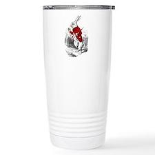 "The White Rabbit ""I'm Late"" Travel Mug"