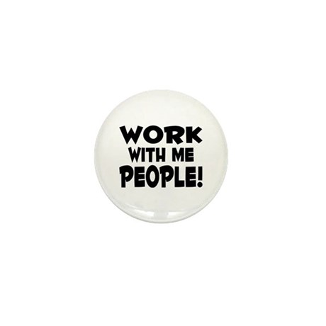 Work People Mini Button (100 pack)