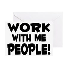 Work People Greeting Cards (Pk of 10)