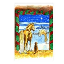 Stable Christmas Postcards (Package of 8)