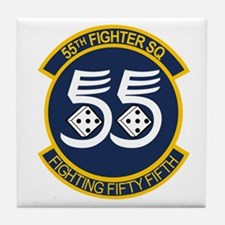 Cool F15 eagle Tile Coaster