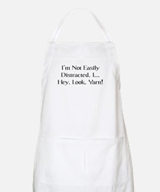 Distracted By Yarn BBQ Apron