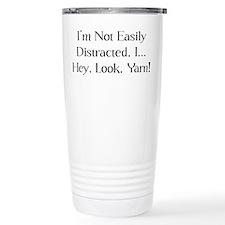 Distracted By Yarn Travel Mug