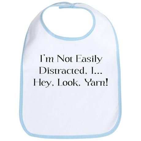 Distracted By Yarn Bib