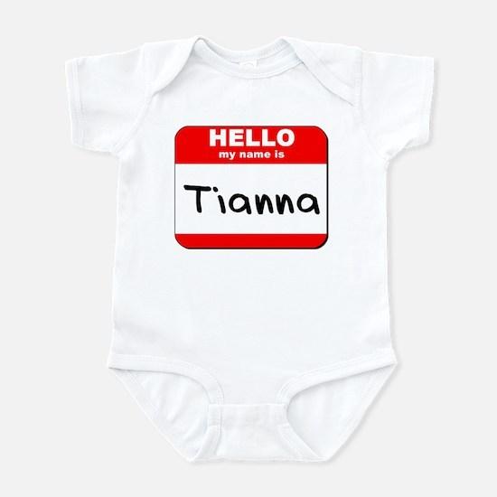 Hello my name is Tianna Infant Bodysuit
