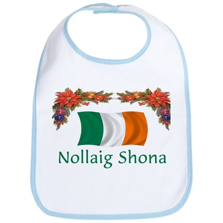 Irish Nollaig Shona 2 Bib