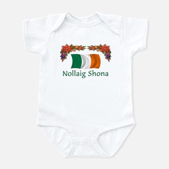 Irish Nollaig Shona 2 Infant Bodysuit