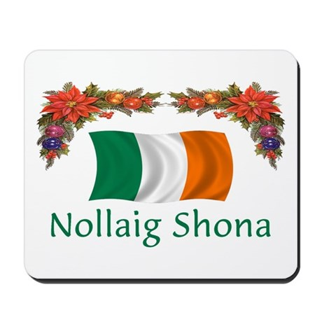 Irish Nollaig Shona 2 Mousepad