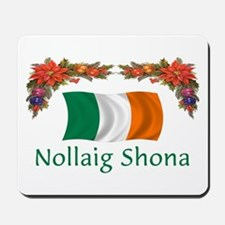Irish Nollaig Shona 2 Mousepad