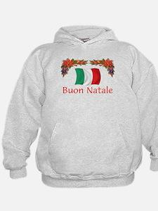 Italy Buon Natale 2 Hoodie