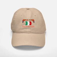 Italy Buon Natale 2 Baseball Baseball Cap