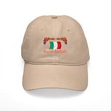 Italy Buon Natale 2 Baseball Cap