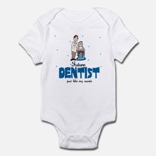 Future Dentist like Auntie Baby Infant Bodysuit