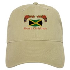 Jamaica Merry Christmas 2 Baseball Cap