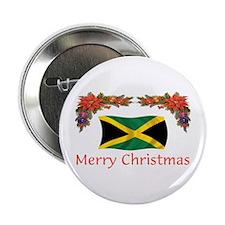 "Jamaica Merry Christmas 2 2.25"" Button"