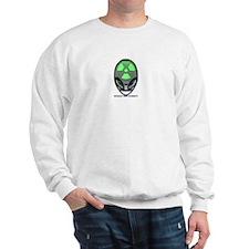 'Nuked' Human Test Subject Sweatshirt