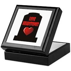 Love Headstones Keepsake Box
