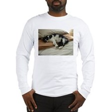 Tuxedo Cat Long Sleeve T-Shirt