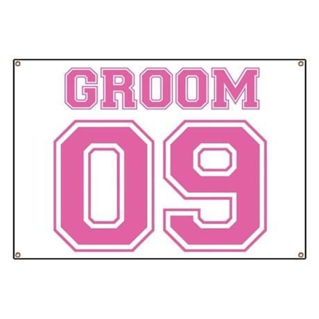 Groom 09 (Pink) Banner