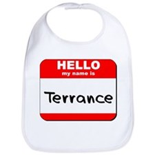 Hello my name is Terrance Bib
