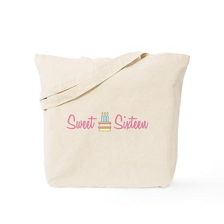 Sweet Sixteen (Cake) Tote Bag
