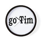 go Tim Wall Clock