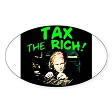 Tax the Oval Decal