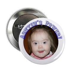 "Ashtin's Power! 2.25"" Button (10 pack)"