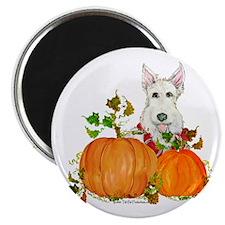 """Autumn Scottie Wheaten 2.25"""" Magnet (10 pack)"""
