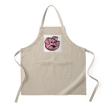 the pink pig BBQ Apron