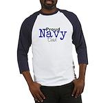 Proud Navy Dad Baseball Jersey