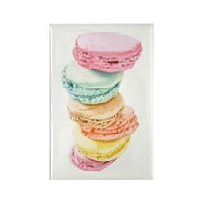 Macaroons Rectangle Magnet