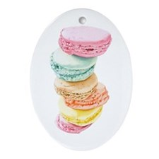 Macaroons Oval Ornament