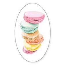 Macaroons Oval Decal